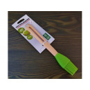 Silicone brush with a wooden handle 25cm