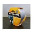 Black and yellow self-adhesive non-slip tape