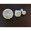 Molds for cookies, squeezed snowflakes