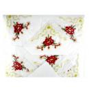 grossiste Linge de table: Nappe avec des  serviettes, tissu avec de la broder