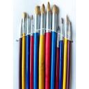 mayorista Accesorios pintores: Brochas de pintor de 12 PC