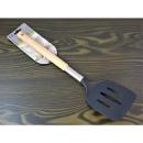 Wooden kitchen spatula, 36 cm handle