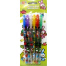 wholesale Gifts & Stationery: Gel pen 6 pcs with glitter