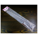 Steel sticks for skewers 36.5 cm 10 pcs