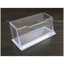 Acrylic desk business card holder