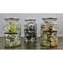 mayorista Casa y decoración: piedras de cristal  decorativas en una lata