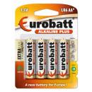 Batteries Alkaline Plus R6 AA 4 pcs.