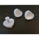 LOVE heart squeeze molds 3 pcs