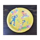 Paper plates 18 cm Sesame Street