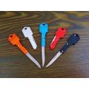 Keychain key pocket knife