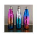 wholesale Organisers & Storage: 500ml steel thermos bottle mix of metallic colors