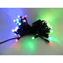 Christmas tree lights 40 LEDs, two-colored LED