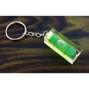 Key ring, spirit level