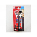 Cars children cutlery - Cars 15cm