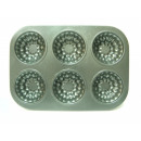 wholesale Casserole Dishes and Baking Molds: Mold muffin MODEL 6 pieces