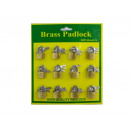 wholesale Garden & DIY store: Padlock Mini Storage 12 pieces