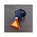 wholesale Sports & Leisure: Bike light back triangle very strong 7 functions