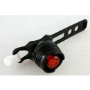Bicycle lighting red LED rear 3 functions NEW