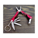 wholesale Gifts & Stationery: Multitool keychain with a flashlight