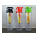 Water bottle with a fruit or ice refill 700ml