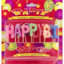 grossiste Articles de fête: Bougies  d'anniversaire Happy Birthday