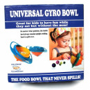 Gravitational bowl for eating for children