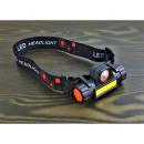 COB + SMD headlamp lamp and magnet