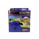Garden hose with a stretchable 22.5m 75FT gun