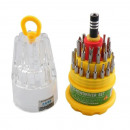 wholesale Garden & DIY store: Screwdriver 32  parts multifunctional