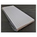 White paper straws 25pcs 20cm