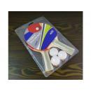 Ping-pong paddles + 3 balls