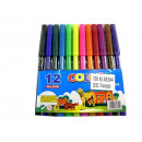 Set of 12 color markers