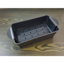 Meat baking mold with insert