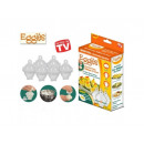 Eggies containers for cooking eggs TV