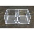 Acrylic organizer for cosmetics or jewelry