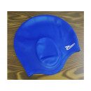 Women's silicone swimming cap