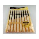 grossiste Coutellerie: baguettes de  bambou à manger 24 cm