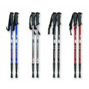 Nordic walking  stick 135 cm compass 1 piece