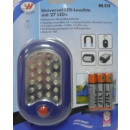 Led flashlight 27 + R03 batteries