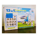 Solar robot toy vehicles 13 in 1