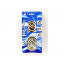 Steel sink strainer 2 pcs