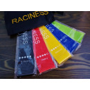 Set of 5 pcs crossfit fitness elastics with a bag