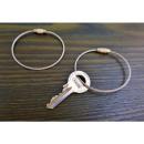 Key chain pendant screwed steel keyring