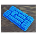 Silicone mold, LEGO blocks 10 pieces