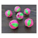 Anti-clog washing balls, 6 pcs, ball