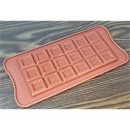 Silicone mold for chocolate cubes