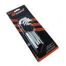 Allen wrench set long 9 pc