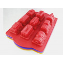 Silicone LARGE train form