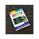 Color chalk 12 pcs