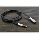 100 cm-es hosszabbító kábel a 3,5 mm-es mini jack